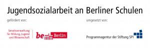 Logo für die Jugendsozialarbeit an Berliner Schulen